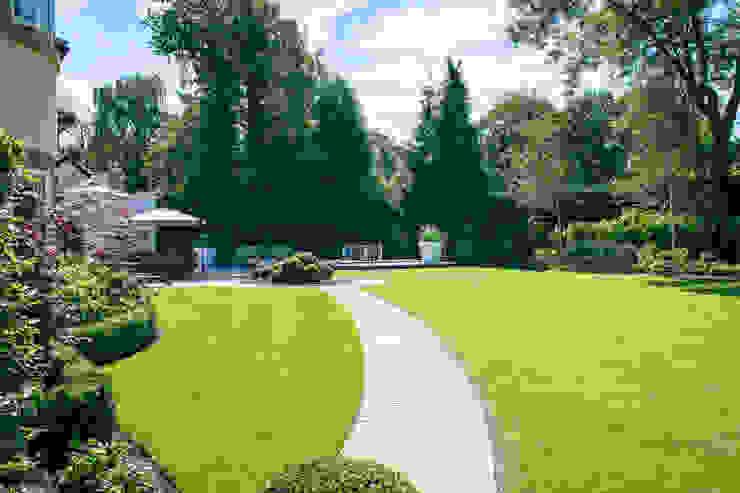 Pool Garden, Cheshire Nowoczesny ogród od Barnes Walker Ltd Nowoczesny