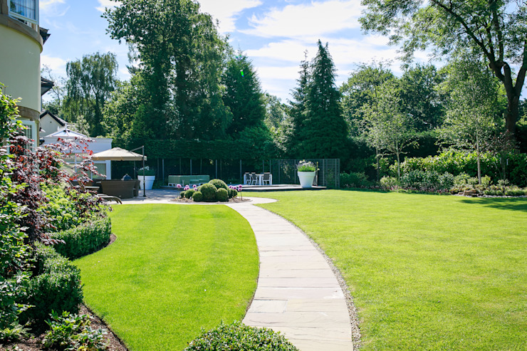 Pool Garden, Cheshire Modern garden by Barnes Walker Ltd Modern