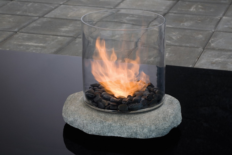 Stone Glass Biofire Urban Icon Living roomFireplaces & accessories