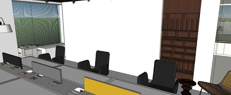 Office teknogrup design Minimalistische Bürogebäude