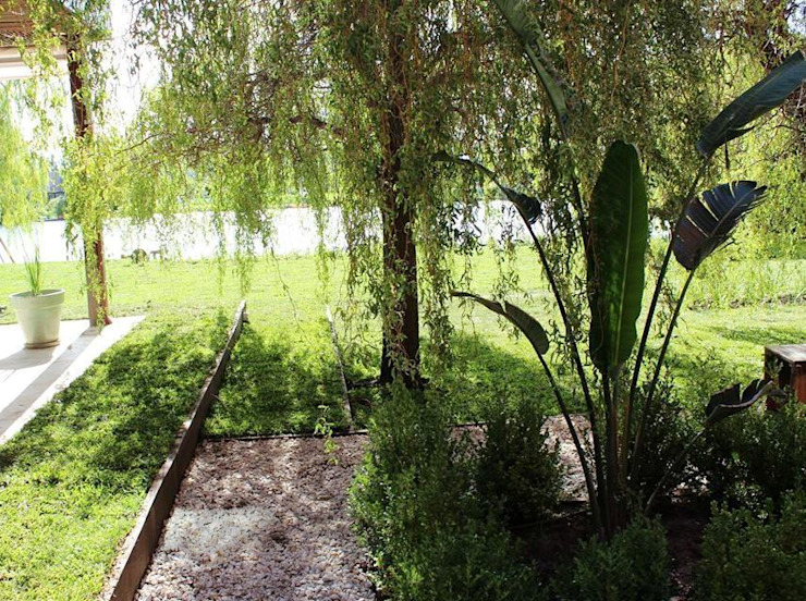 materiales Jardines modernos: Ideas, imágenes y decoración de BAIRES GREEN Moderno