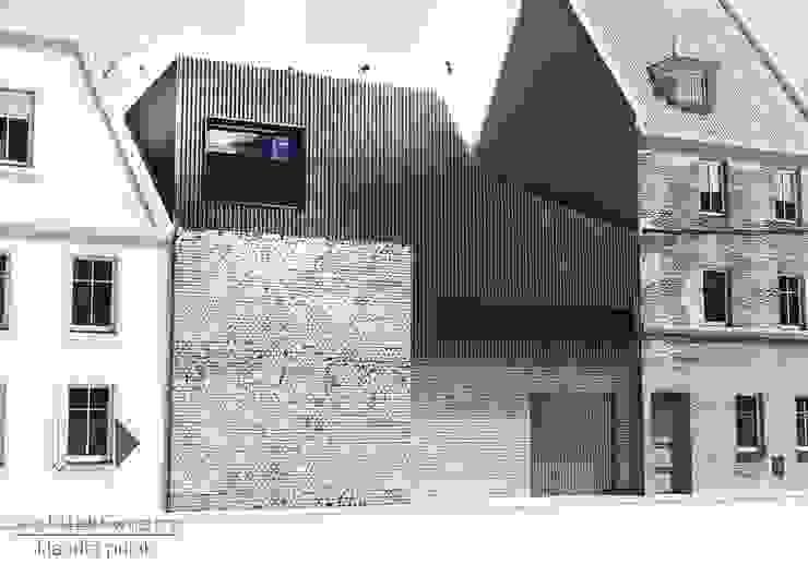 Kamienica Gliwice Nowoczesne domy od Architekt wnętrz Klaudia Pniak Nowoczesny