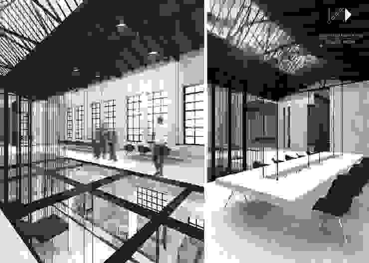 Centrum edukacyjne&bistro w Gliwicach od Architekt wnętrz Klaudia Pniak Nowoczesny
