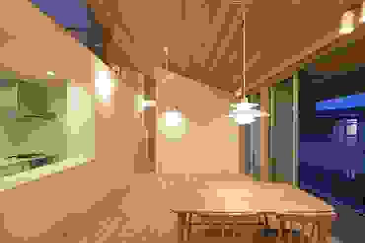 大府の二世帯住宅 和風デザインの ダイニング の 株式会社FAR EAST [ファーイースト] 和風