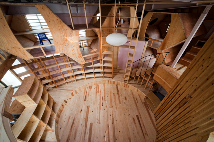 by 一級建築士事務所 東島鋭建築設計工房 Eclectic