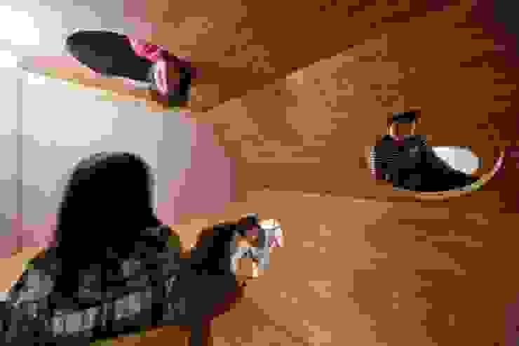 '蜂の巣' オリジナルデザインの 子供部屋 の 一級建築士事務所 東島鋭建築設計工房 オリジナル