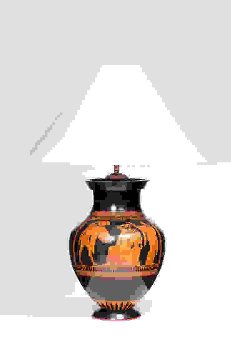 AMPHORA od Peter Woodland Lamps Śródziemnomorski