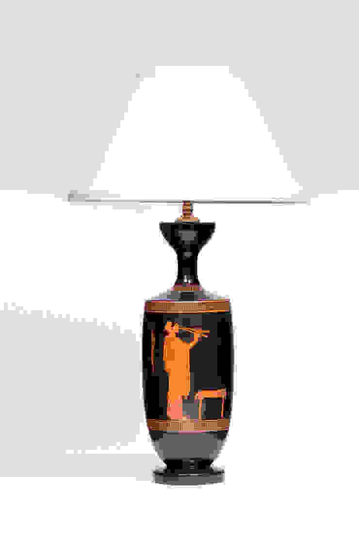 LEKYTHOS LARGE od Peter Woodland Lamps Śródziemnomorski