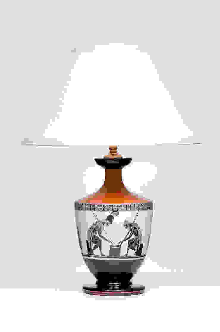 LEKYTHOS SMALL od Peter Woodland Lamps Śródziemnomorski