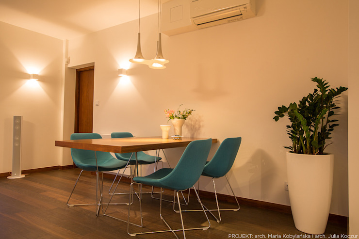 Dining room by LEMUR Architekci, Modern