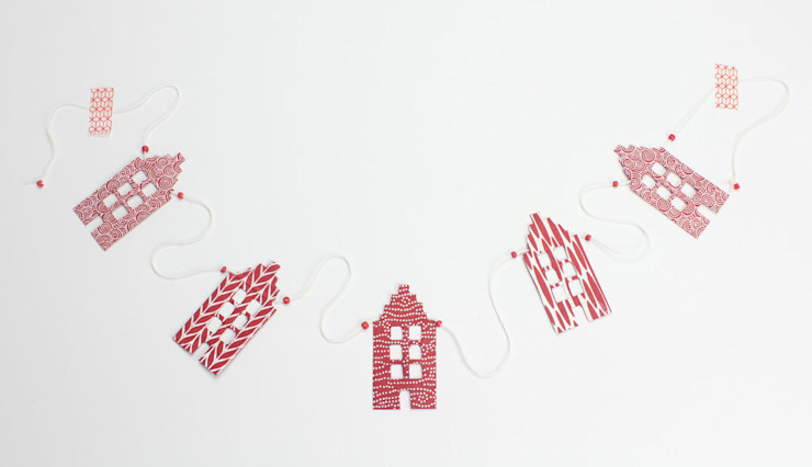 Slinger huisjes Jansje design: modern  door De wereld van Jansje, Modern