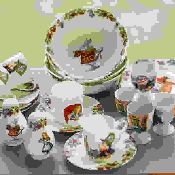 Alice In Wonderland Breakfast Set The Alice Boutique 주방식기류, 그릇 & 유리 제품