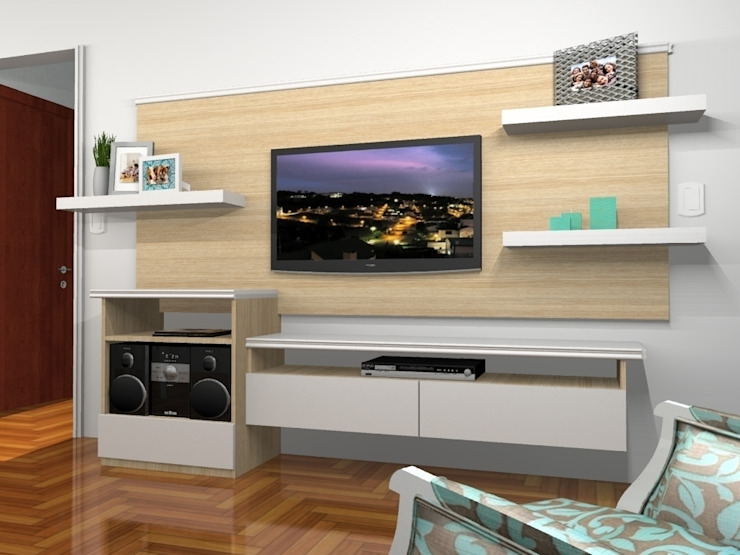 Render 3D - Sector 2 Muebles del angel Livings de estilo moderno