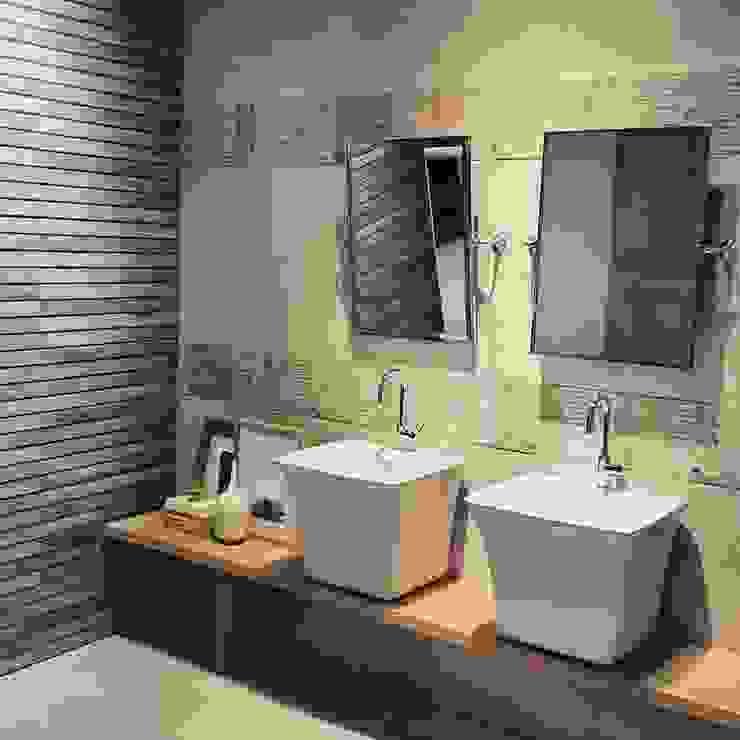 Casas de banho minimalistas por BAÑOS Y COCINAS CAME-3 Minimalista