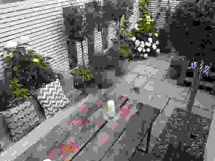 Slim & Subtle Rear Garden homify Nowoczesny ogród
