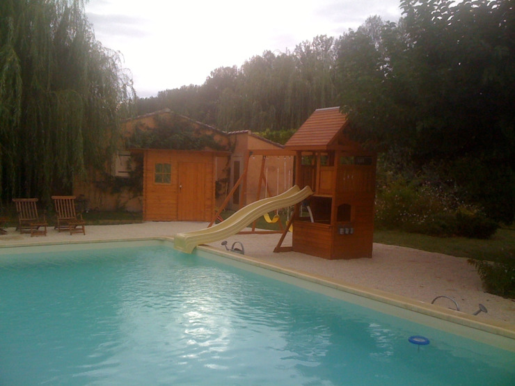 Climbing Frame Across The Pool: classic  by Selwood Products Ltd, Classic