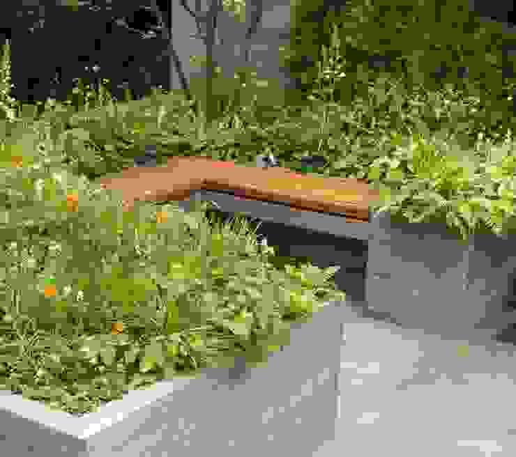 RHS Chelsea 2012 - Artisan Garden Giardino in stile mediterraneo di Ruth Willmott Mediterraneo