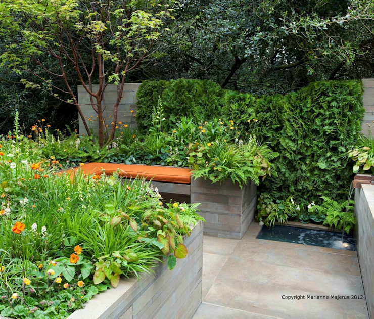 RHS Chelsea 2012 - Artisan Garden Ruth Willmott 地中海風 庭