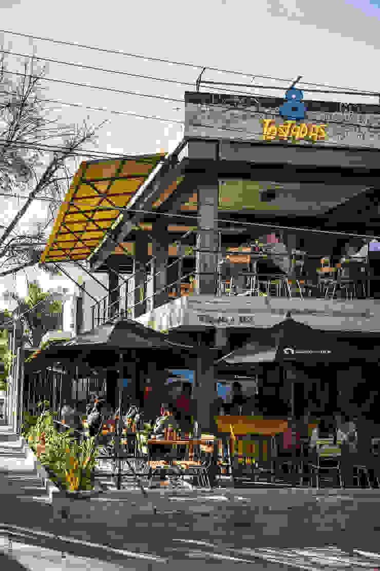 Fachada Gastronomía de estilo industrial de Mexicana de Arquitectura Industrial