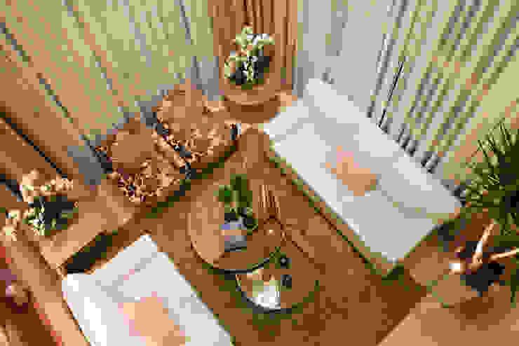 Casa Porto Seguro Salas de estar modernas por Arquiteto Aquiles Nícolas Kílaris Moderno