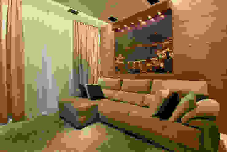 Casa Porto Seguro Salas multimídia modernas por Arquiteto Aquiles Nícolas Kílaris Moderno