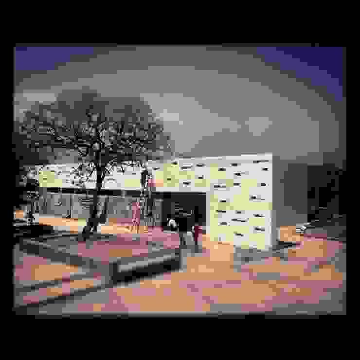 Maisons minimalistes par Grupo Risco Arquitectos Asociados S. de R.L. de C.V. Minimaliste