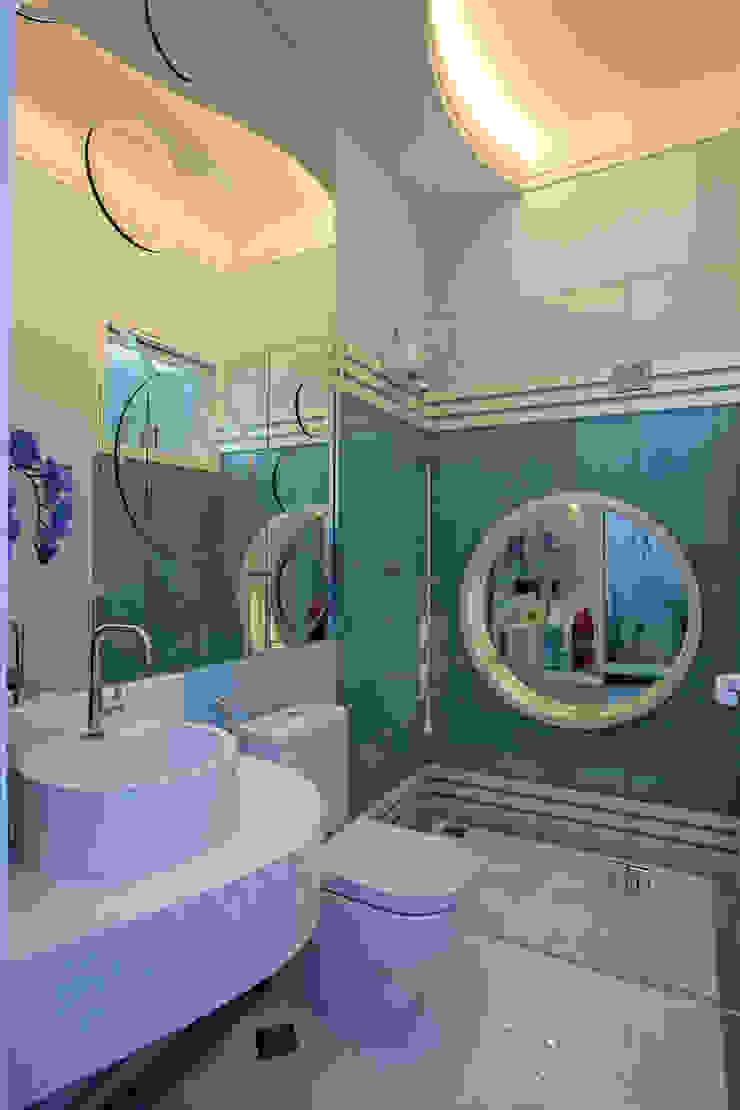 Casa Porto Seguro Banheiros modernos por Arquiteto Aquiles Nícolas Kílaris Moderno