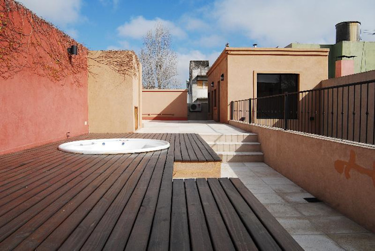 Patios & Decks by Parrado Arquitectura,