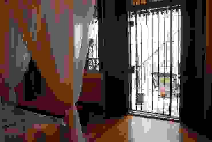 Parrado Arquitectura Eclectic style bedroom