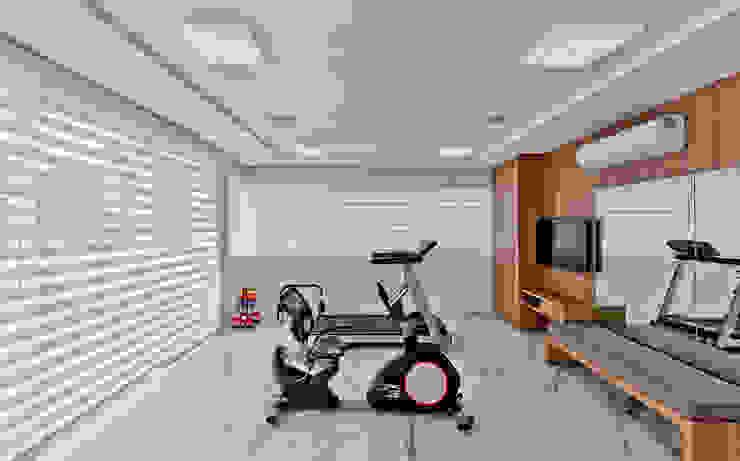 Fitness Fitness moderno por Espaço do Traço arquitetura Moderno