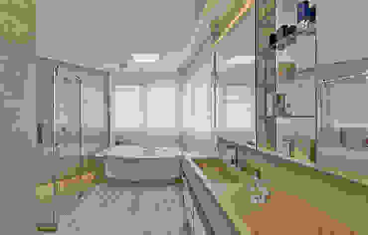 Modern style bathrooms by Espaço do Traço arquitetura Modern