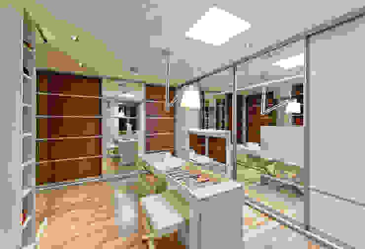 Espaço do Traço arquitetura:  tarz Giyinme Odası,