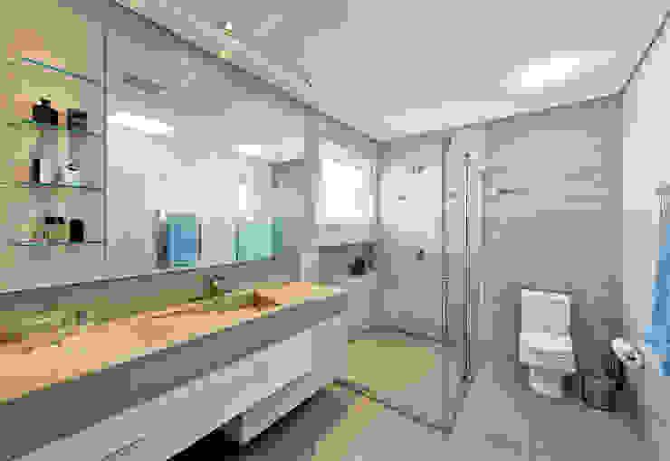 Banheiro do filho Banheiros modernos por Espaço do Traço arquitetura Moderno