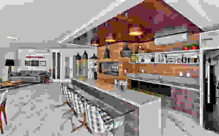 Cocinas de estilo  por Espaço do Traço arquitetura, Moderno