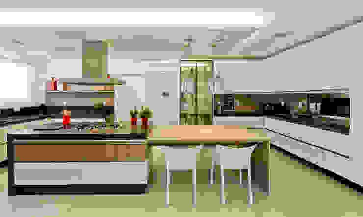 Cocinas de estilo moderno de Espaço do Traço arquitetura Moderno