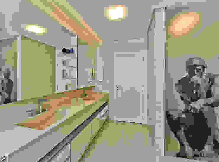 Banheiro master Espaço do Traço arquitetura Banheiros modernos