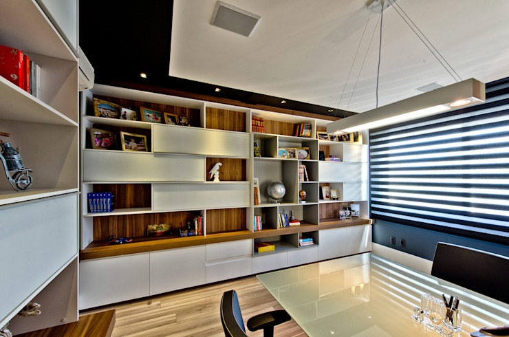 Bureau moderne par Espaço do Traço arquitetura Moderne