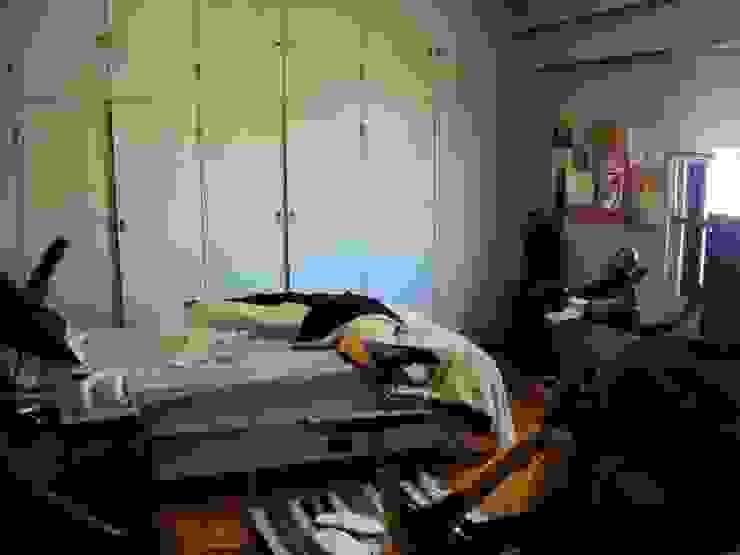 Piso en Retrio Moderne Schlafzimmer von GUTMAN+LEHRER ARQUITECTAS Modern