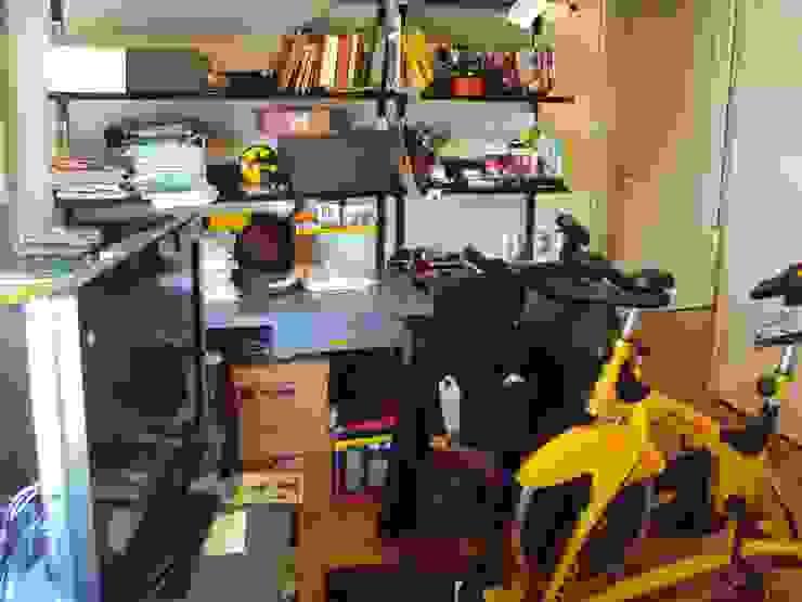 Piso en Retrio Moderne Arbeitszimmer von GUTMAN+LEHRER ARQUITECTAS Modern
