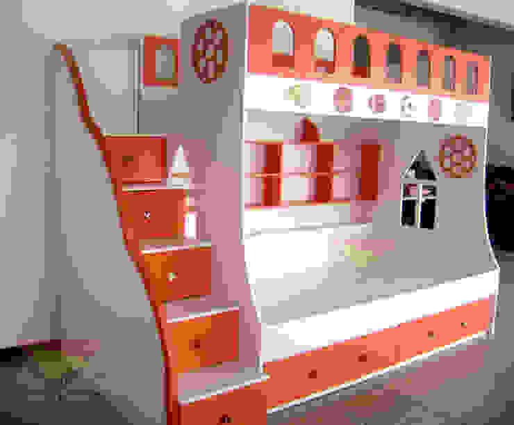 varonil y divertida litera para niños de camas y literas infantiles kids world Moderno