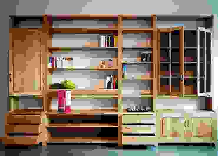 MK Study Cabinet: 플레전트빌 (Pleasant Ville)의 현대 ,모던