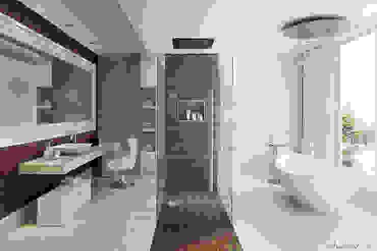 Banheiros modernos por studioviro Moderno