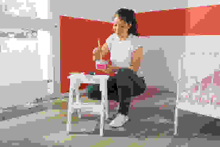 Aqua Wandtafelfarbe aufrühren Ausgefallene Kinderzimmer von Jansen Ausgefallen