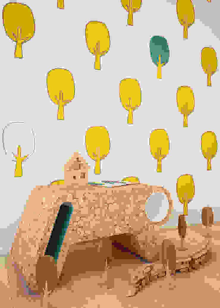 Humpty Dumpty Room Decoration Chambre fille Jaune