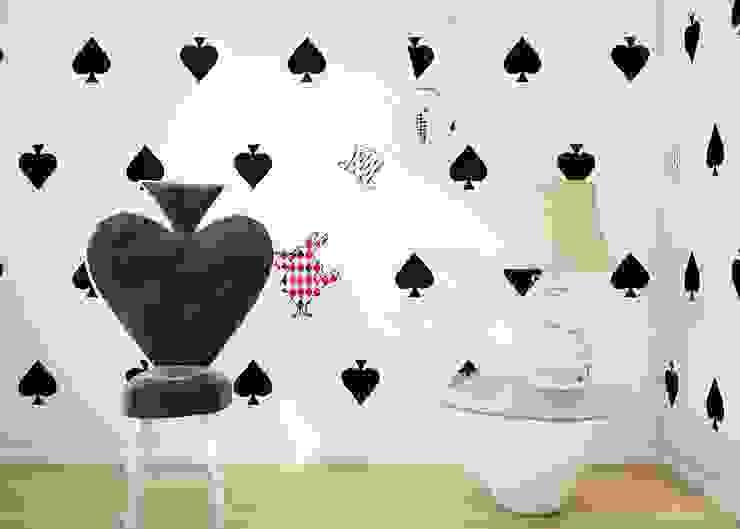 Tapeta Alice: styl , w kategorii Pokój dziecięcy zaprojektowany przez Humpty Dumpty Room Decoration,