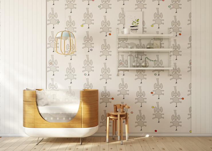por Humpty Dumpty Room Decoration Moderno
