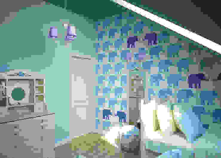 モダンデザインの 子供部屋 の Humpty Dumpty Room Decoration モダン