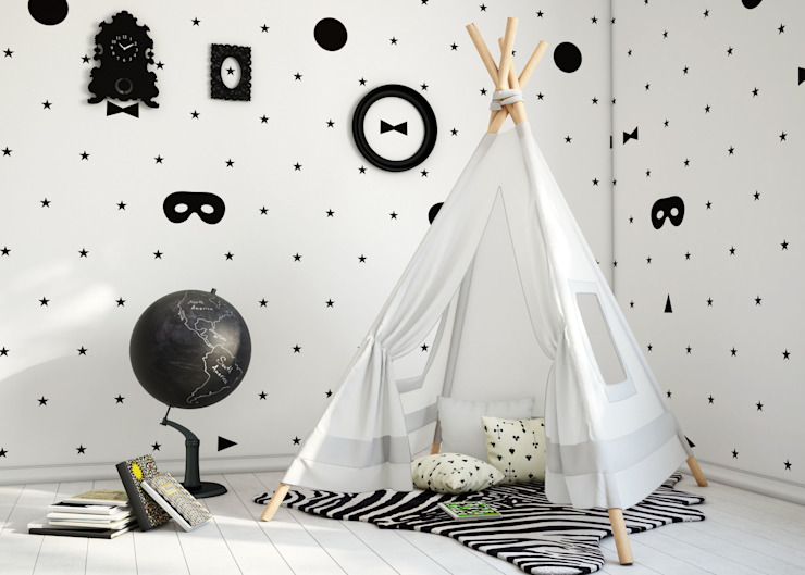 Paredes y suelos de estilo  por Humpty Dumpty Room Decoration