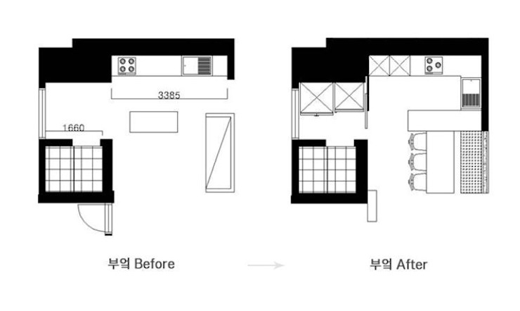 두아이를 위한 특별한 트윈벙커 다락방 인테리어 : 퍼스트애비뉴의 현대 ,모던