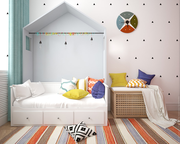 Eclectic style nursery/kids room by «Студия 3.14» Eclectic